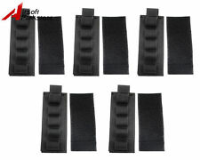5pcs Tactical 5 Round Shotgun Shell 12Gauge Ammo Carrier Holder Pouch Hunting