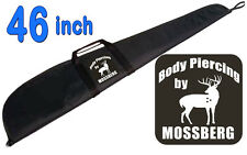 "46"" Shotgun, Rifle ""BODY PIERCING BY MOSSBERG"" Soft Case 46 INCH BLACK Gun Case"