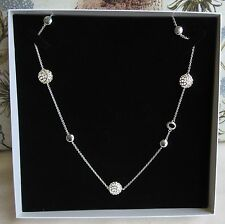 BNIB Rachel Galley Sterling Silver Memento Disc Necklace