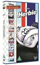 HERBIE DVD COMPLETE COLLECTION 5 Movies Love Bug RIDES GOES BANANAS MONTE CARLO