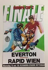 A 6 x 4 inch photo personally signed by Gary Stevens when playing for Everton.