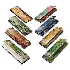 DIY 8 Fruit Flavored Smoking Cigarette Hemp Tobacco Rolling Papers 400 Leaves