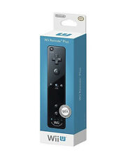 Official Nintendo Wii U Remote Plus Black + Controller Genuine OEM- New Other