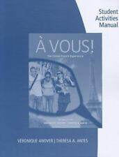 A Vous! : The Global French Experience by Véronique Anover (2011, Paperback,...