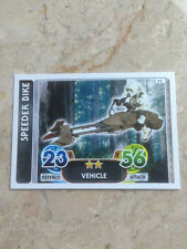STAR WARS Force Awakens - Force Attax Trading Card #095 Speeder Bike