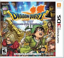 Dragon Quest VII: Fragments of the Forgotten Past - Nintendo 3DS Exclusive RPG