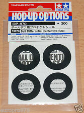 Tamiya 53970 Ball Differential Protective Seal (TA05/TRF416/TRF501x/TRF511) NIP