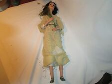 "Rare Edna Daly 1984 Wax over Porcelain 24"" OOAK Victorian Doll"
