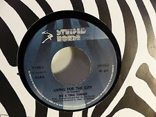 IKE & TINA TURNER Living for the city / push P7362 STRIPED HORSE