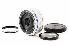 *MINT!!* Olympus M.Zuiko Digital 17mm f2.8 Silver From Japan #345