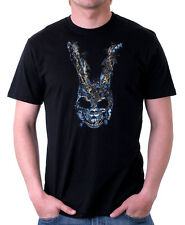 Donnie Darko Bunny Talk To Frank Rabbit Cult Movie black cotton t-shirt 09848