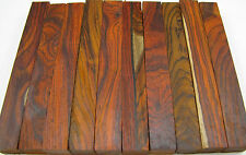 "10 Cocobolo Pen Blanks 5/8""x 5/8""x5"" Exotic Wood Lumber Free Shipping C-204"