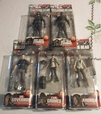 McFarlane Walking Dead TV Series 4 SET OF 5 FIGURES, FREE FAST SHIPPING