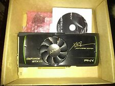 PNY XLR8 Enthusiast Edition NVIDIA GTX 570 1.28GB GDDR5 PCI-E DVI HDMI NEW Open