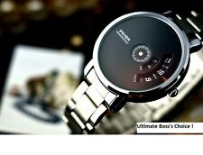 Veyron Wilon fashion genuine steel strip Turntable Dial quartz watch dizzy mens