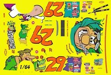 #29 Steve Grissom Cartoon Network Chevy 1996 1/64th HO Scale Slot Car Decals