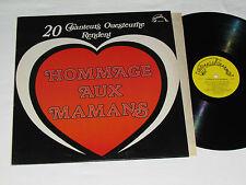 HOMMAGE AUX MAMANS 20 Chanteurs Ouesteurne LP French Quebec Country Music Vinyl