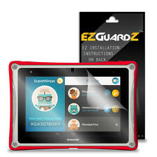 2X EZguardz LCD Screen Protector Cover HD 2X For FUHU Nabi Dreamtab 8.0 Tablet