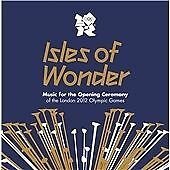 ISLES OF WONDER 2 CD MUSIC OPENING CEREMONY LONDON 2012 OLYMPIC GAMES NOT RIO