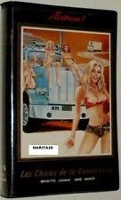 LAS CHICAS DE LA GASOLINERA / BRIGITTE LAHAIE JANE BAKER ELODIE DELAGE VHS +DVDR