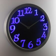 nc0970-b Big Letter Home Decor Night Light Neon Sign LED Wall Clock