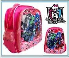 MONSTER HIGH PRESCHOOL SCHOOL BACKPACK SHOULDER GIRL KIDS CHILD TODDLER TOY BAG