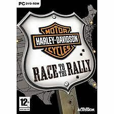 ELDORADODUJEU     MOTOR CYCLES HARLEY DAVIDSON RACE TO THE RALLY Pour PC NEUF VF