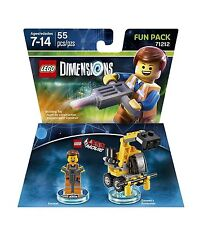 NEW, Sealed Lego Dimensions EMMET & EXCAVATOR Fun Pack 71212 (Ships for Free)