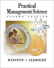 Practical Management Science : Spreadsheet Modeling and Applications by Wayne...