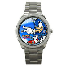 New Sonic the Hedgehog 2 Top Game Style for Sport Metal Watch free shipping