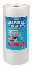 Gardman Greenhouse Bubble Insulation Pack With Clips 30x0.75m