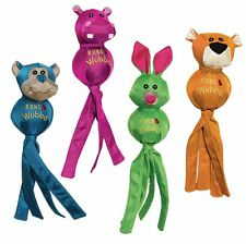 KONG Wubba Ballistic Friends Interactive Fetch Squeaker Dog Toy Assorted Large