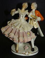 """tanzendes Paar """"Sandizell"""", H-15 cm, Kleid bestossen     (255/1057)"""