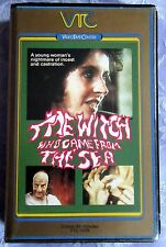 THE WITCH WHO CAME FROM THE SEA, BETA, PAL, DPP72, VIDEO NASTY, PRE CERT *RARE*