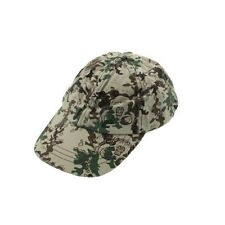 French Connection Gray Mylti Printed Cotton Ball Cap Hat One Size - NEW