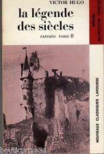 Livre de poche - La Légende Des Siècles  -  Extraits Tome 2