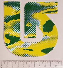 *** Burton - Snowboard Sticker - Logo - Gelb/grün  ***
