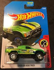 Hot Wheels 2017 CUSTOM Super Toyota Off Road Truck with Real Riders
