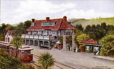 ARQ / Quinton # *2520 by J.Salmon. Hotel & Station, Groudle Glen, Isle of Man.