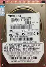 "TOSHIBA 40 GB Interna 2.5"" 16 MB IDE 5400 RPM MK4026GAX Hard Disk Drive HDD"