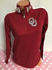 New Victoria's Secret Pink Oklahoma Sooners Bling Sweatshirt XSmall V22