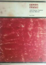 Case 1030 Tractor Service Manual 324pg. Book Comfort King Draft-O-Matic Farm Hay