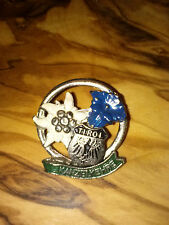 Vintage Oktoberfest Hiking German Bavarian Ski Hat Pin KANZELKEHRE