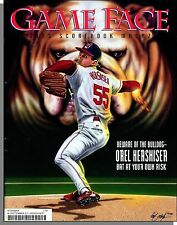 Cleveland Indians / Game Face Scorebook Magazine - 1996, Sept - Orel Hershiser!
