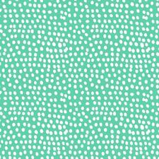 AQUA - BLUE/GREEN - FQ - FLURRY DOT DASH BY DASHWOOD 100% COTTON FAT QUARTER