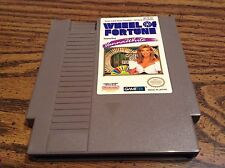 NINTENDO NES WHEEL OF FORTUNE GAME