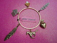 Betsey Johnson Charm Bangle Bracelet (retired)