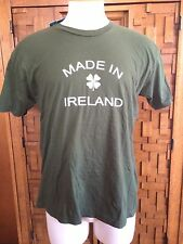 NWT BDG URBAN OUTFITTERS MADE IN IRELAND 4 LEAF CLOVER IRISH T-SHIRT GREEN XL