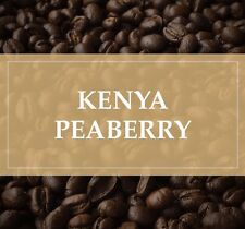 5 lbs Kenya Peaberry Nyeri Ndimaini Unroasted/Green Coffee Beans, Fresh Crop