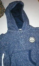 New Boys NWT True Religion Brand Jeans 2T 2 T Pullover Hoodie Top Blue Logo Girl
